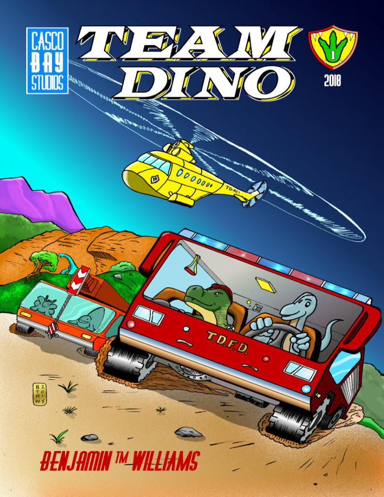 Team Dino 1 Cover
