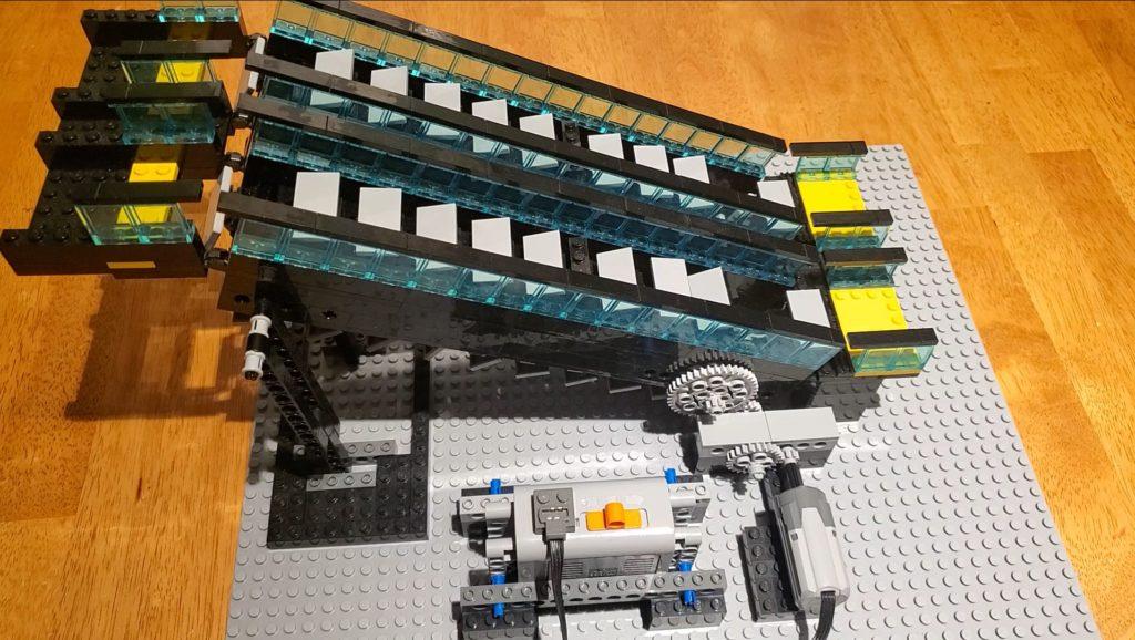 LEGO escalator
